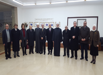 Dar Al-Ajaza Al-Islamia delegation visits Dr. Mohammed Khaled Foundations on January 5, 2016